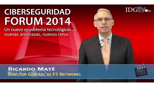 Ricardo Maté, de F5 Networks   Vídeos   Ciberseguridad Forum